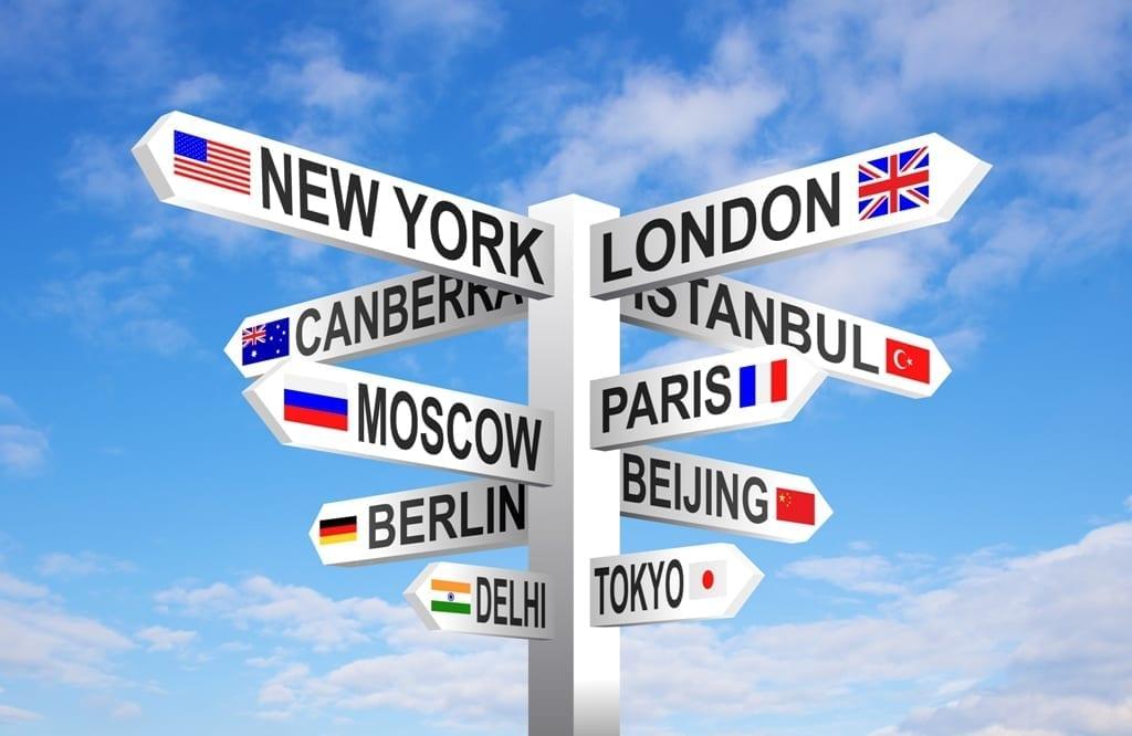 Trasloco all'estero